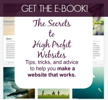 The Secrets  to  High Profit  Websites AD