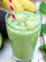 AVOCADO SMOOTHIE | www.4hourbodygirl.com