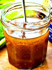 THE BEST SALAD DRESSING RECIPE EVER!| www.4hourbodygirl.com