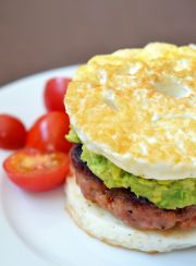 HEALTHY 3 MINUTES LOW CARB BREAKFAST | www.4hourbodygirl.com
