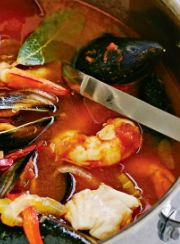 MEXICAN SEAFOOD STEW | www.4hourbodygirl.com