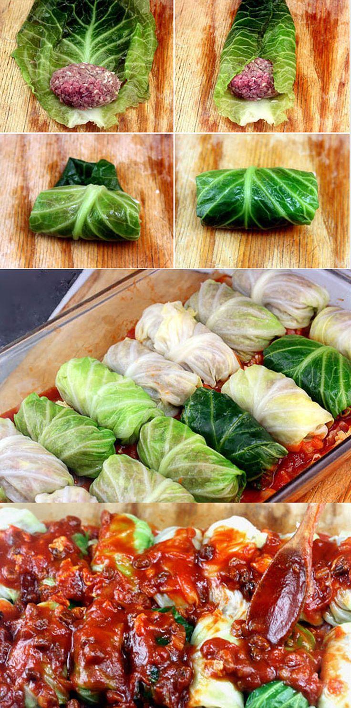 Stuffed Cabbage Rolls – www.4hourbodygirl.com