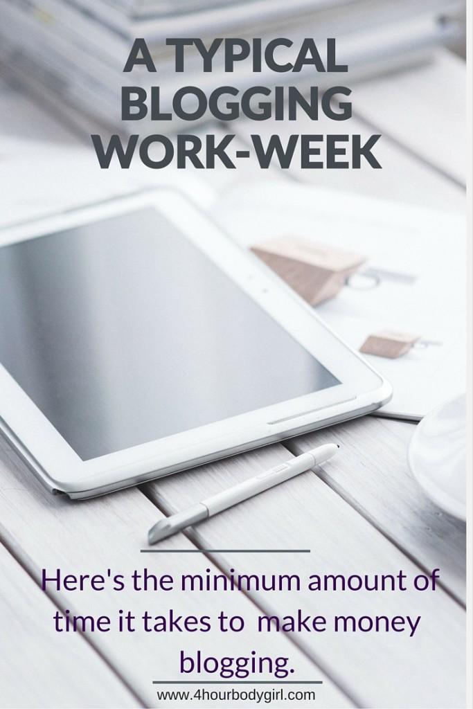 Be effective and make money blogging. www.4hourbodygirl.com