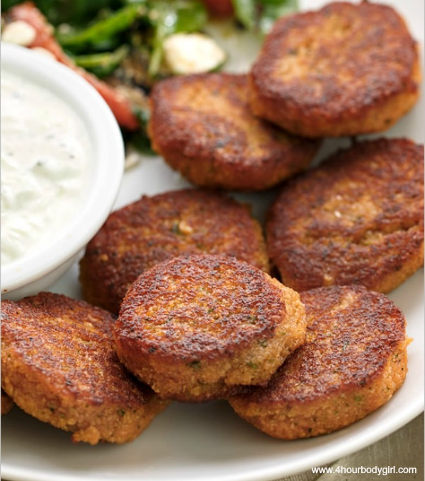 Easy & Tasty, High Protein Veggie Nuggets | www.4hourbodygirl.com