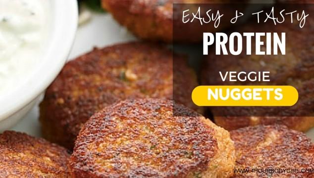 Easy..Tasty.High.Protein.Veggie.Nuggets.www.4hourbodygirl.com