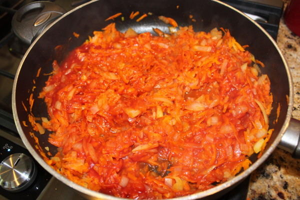 carrots and onion | www.4hourbodygirl.com