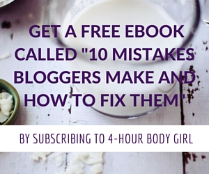 Bloggong ebook capture | www.4hourbodygirl.com