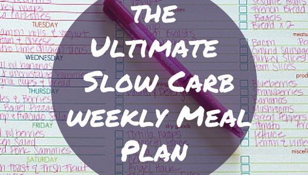 Ultimate Slow Carb Weekly Meal Plan