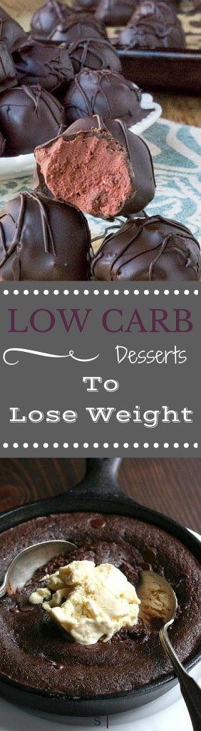 11 LOW CARB DESSERTS TO LOSE WEIGHT | www.4hourbodygirl.com