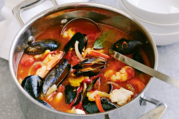 Mexican seafood stew 4 hour body girl for Mexican fish soup recipe